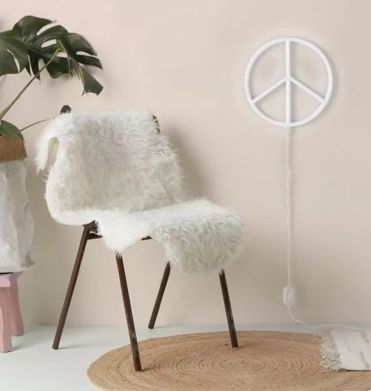 "Neonstyle Lampe ""Peace"""